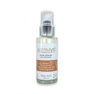 MON SÉRUM - ADERMYS Cosmetics : « Mon allié beauté » au lait d'ânesse BIO (flacon 30 ml) par S&B Provence (S&B Provence, neuf)