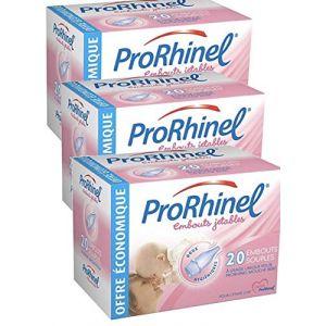 ProRhinel Lot de 3 x 20 Embouts Jetables Souples pour Mouche Bébé (3) (WEBPARA, neuf)