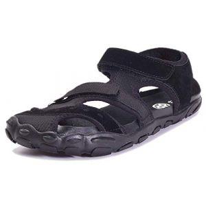 Sandales Femme Homme Sandales de Randonnée Marche Trekking Été Séchage Rapide Bout Fermé Chaussures de Plage & Piscine (kemousen, neuf)