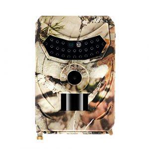 Godbless Caméra de Chasse 12 MP 1080P Caméra de Chasse avec Objectif 120° Grand Angle 26pcs LED IR 15 m Vision Nocturne caméra avec étanche Ip56 (Programme Custom pour la Programmation Entre Amis). (Godbless, neuf)