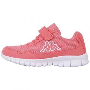 Kappa Follow, Baskets Fille, Rouge (Flamingo/White 7210) 30 EU (Desportivo, neuf)