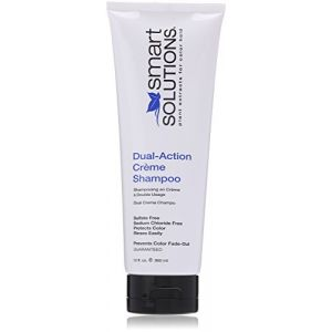 Smart Solutions Dual Action Creme Shampoo, 12 Fluid Ounce by Smart Solutions (Stylogenic, neuf)