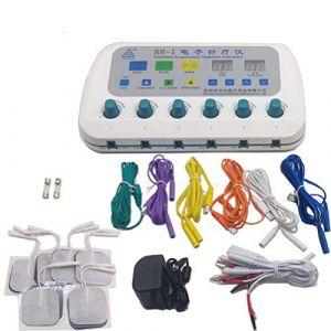 Machine électrique de stimulateur d'acupuncture masseur de SH-I soins du corps avec Instrument de traitement d'électro-Stimulation à 6 canaux de sortie (homeandsports731, neuf)
