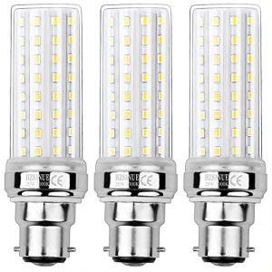 HZSANUE LED Ampoule à Maïs 20W, 150W Équivalent ampoules à Incandescence, B22 LED Baïonnette Ampoules, 3000K Blanc Chaud, 2000LM, Pack of 3 (WinnowTe, neuf)