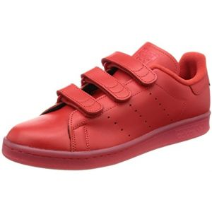 adidas Stan Smith CF, Chaussure de Basketball Mixte Adulte, Rouge, 39 1/3 EU (DURCHSTARTEER, neuf)