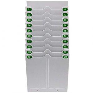 HONEY BEAR présence à horloge Enregistreur de présence Pointeuse avec 50 cartes & Horloge temps Ruban Enregistreur de présence LED (Pocket Porte-Cartes) (PINGFANG, neuf)