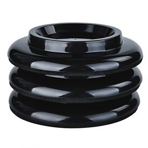 KingPoint, lot de 3 coupelles pour roulette, tampons de protection en ABS pour roulette. noir (KingPoint, neuf)
