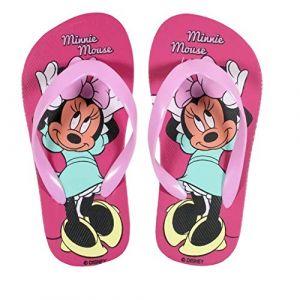 Tongs Minnie Disney, Enfant Minnie (30/31, Rose Clair) (kidparadise, neuf)