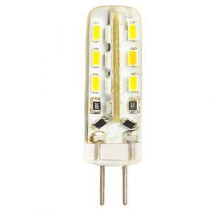 Ampoule LED G4 2 W de rechange pour lampe halogène 20 W Blanc chaud 3000 K 150 lm AC/DC 12 V 24 x 3014SMD (ShenShuai Official store, neuf)