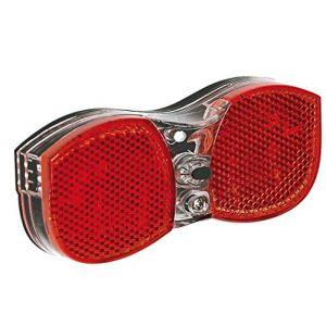 AWE Feu arrière de vélo 3 LED avec indicateur de Batterie Faible (Bike-x, neuf)