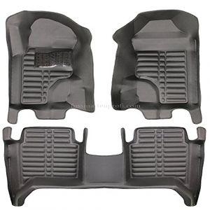 fussmattenprofi.com Tapis de Sol Voiture 3D Premium sur Mesure Adapté pour Ford Ranger Cabine Double Depuis 2015 (fussmattenprofi, neuf)