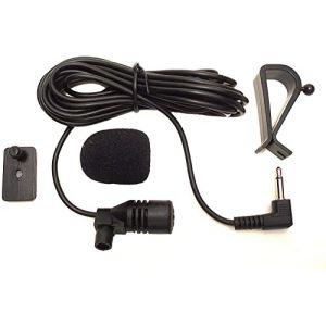 Augustcoco Microphone externe 3,5mm, à monter sur voiture, Bluetooth, audio, stéréo, radio, GPS, DVD (Smartnavi, neuf)