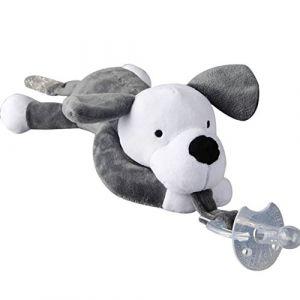 Minuya Bébé confort Tétine ave attache sucette bebe, Amovible Jouet de poupée en peluche Tétine (Minuya EU, neuf)