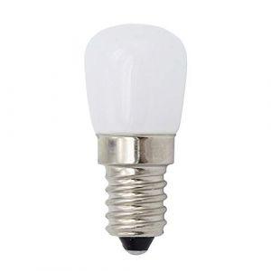 Lot de 2 ampoules LED 2 W 220 V E14 Petit culot à vis Edison E14 LED pygmée pour réfrigérateur/hotte de cuisinière/machine à coudre (DAYOLY, neuf)