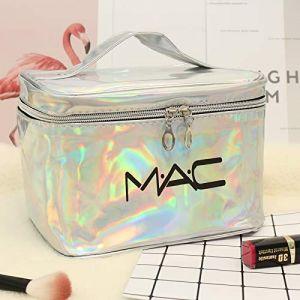 Sac cosmétique petit portable simple grande capacité sac cosmétique fille coeur laver produit boîte de rangement grand argent (ManManXu, neuf)