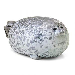 Peluche jouet animal marin mignon oreiller rempli jouet coussin oreiller enfant cadeau d'anniversaire-31cm-50cm_A (lizhaowei531045832, neuf)