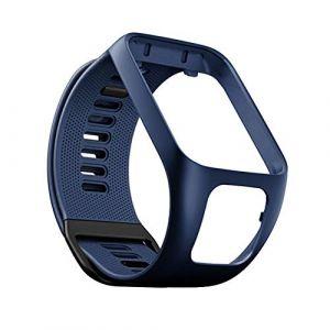 Bracelet de Montre en Silicone pour Tom Tom Runner 2/3 Bracelet de Étanche et Sport pour Tomtom Golfer 8 Adventurer (YVYV-FR, neuf)
