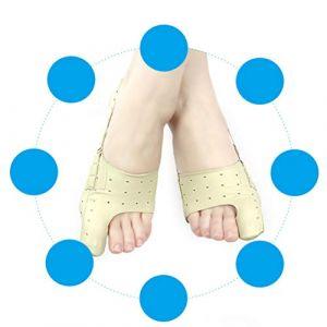 Healifty Un orthèse de orteil de pied utile pour adultes portables, gros orteil de pied, un orteil de orteil universel pour hommes et femmes, destiné à corriger les orteils m jaune clair (Ibrihamn, neuf)