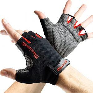 MACCIAVELLI Gants Musculation, Gants de Fitness avec Soutien au Poignet | Gants de Sport Respirants pour Musculation, Haltérophilie et Crossfit | Gants D'entraînement pour Hommes et Femmes (CasaPara, neuf)
