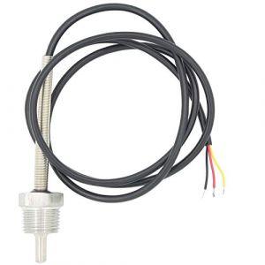 1/2 pollice 6mm Sonde pt100 temperature sensor avec doigt de gant pour sonde thermocouple - 30 50 100 150 200 300 400 500mm (30mm) (HappyParty, neuf)