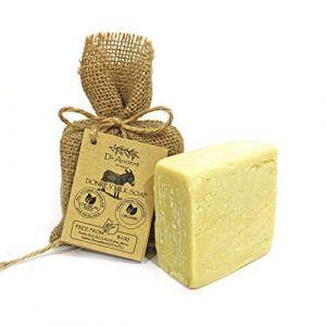Savon à la lait d'ânesse organique naturel traditionnel fait à la main antique - Anti-âge éclaircissant pour la peau, hydratant - Aucun produit chimique, savon naturel pur! (AvavA, neuf)