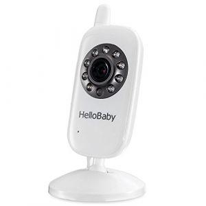 HelloBaby HB24TX Caméra supplémentaire pour moniteur vidéo sans fil pour bébé pour HB24 HB32 (JINGRUIMEI, neuf)
