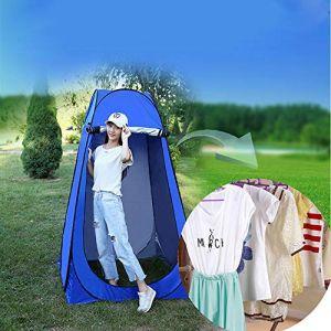Vinteky Tente de Douche Pliage Pop Up Cabine de Changement Toilette Vêtement Portable Tente Privée Douche Camping Abri de Plein Air Vestiaire Extérieure Intérieure+Sac de Transport (vinteky-de, neuf)