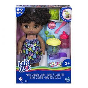 Baby Alive - Mange A La Cuillere - Poupee Cheveux Noirs (Bargainmax Ltd, neuf)