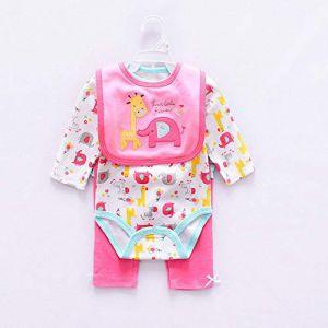LLX Mode Nouveau-né Vêtements Bébé Reborn Bébé Fille Vêtements De Poupée pour 20-22 Pouces 50-55 Cm Poupée Cadeaux,T (guolinm, neuf)