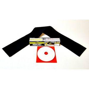 Cabriolet Capote Kit de réparation en PVC original Capote (venyl), Repair Kit REP Kit REP Kit pour fissures, Coupes, trous, Écorchures. ect. (avec rustine complet, colle, EBA CD) (Autosattler, neuf)