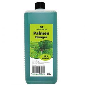 Engrais pour palmier liquide 1 l – jusqu'à 200 litres d'eau d'arrosage – Engrais pour palmiers et engrais de feuilles (Konfitee Naturkost GmbH, neuf)