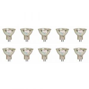 - Lot de 10 - GU4 Ampoule Halogène Dichroïque MR11, 12V, 35W, 35mm (ncc-design, neuf)