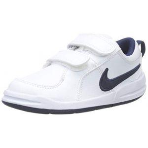Nike Pico TDV, Chaussures Bébé marche bébé garçon, Blanc (White/Midnight Navy), 19.5 EU (3-6 months Bébé UK)