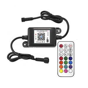 INDARUN RGB wifi contrôleur pour le spot encastrable rgb + télécommande extérieur étanche (INDARUN-EU, neuf)