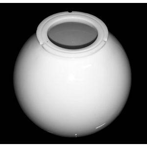 Globe lumineux en polycarbonate blanc Diamètre de 25cm Avec baïonnette de 11,8cm (EXTRUMOL, neuf)