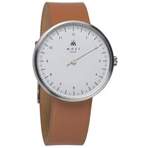 MAST MILANO SL103WH05-L-UNO - Montre pour Homme Mono Aiguille Ultra Plate (Watch Your Watch, neuf)