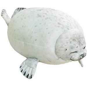 Jouet en peluche animal en peluche mignon lion de mer animal marin oreiller enfant cadeau d'anniversaire -30cm_C (lizhaowei531045832, neuf)