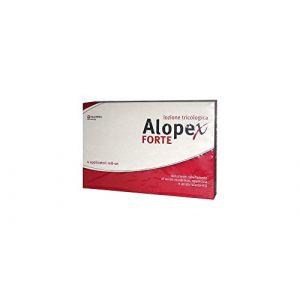 Alopex Lotion forte pour cheveux anti-chute 4 applicateurs roll-on (Farmacia Bonci Resti, neuf)