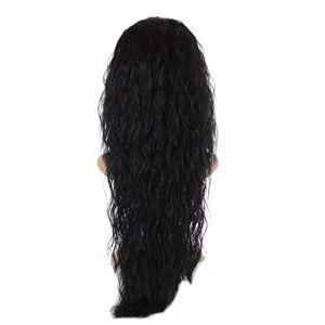 Extension Ondulation Egyptienne Noir | Extension Capillaire une pièce |Légère texture gaufrée | Raie en forme de V (Hair By MissTresses, neuf)