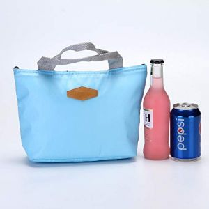 Sac Isotherme Sac de Repas pour Hommes Femmes Enfants - Sac Repas Isotherme - Sac à Déjeuner Lunch Bag Protection de Fraîcheur pour Travail Ecole Pique-Nique 22 * 10 * 18cm (Serria, neuf)