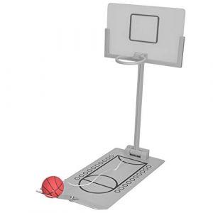 Mini machine de basket pliante de bureau en alliage d'aluminium, jeu de compteur innovant à micro-coups pour fête de famille et réduction (Rotekt, neuf)