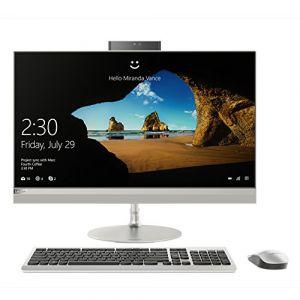 Lenovo IdeaCentre AIO 520Â–24iku Desktop PC All in One avec processeur i5Â–8250u, RAM 8Go, mémoire Intel optain DE 16Go, HDD 1to, écran 23.8LED FHD, Carte Graphique partagée [Layout Italien]