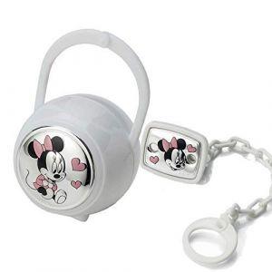 Disney Baby - Attache sucette, chaîne avec boîte en argent - cadeau pour baptême/anniversaire (Valenti&Co, neuf)