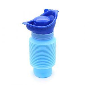 Yuhtech Portable Petit Pot à Urine Toilettes Urinoir d'urgence pour Hommes Femme Enfant pour Urgences en Voiture (Yuhitech-EU, neuf)