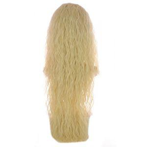 Extension Ondulation Egyptienne Blond Clair | Extension Capillaire une pièce |Légère texture gaufrée | Raie en forme de V (Hair By MissTresses, neuf)