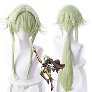 PANQQ Anime gobelin tueur haut elfe Archer Yousei Yunde longue perruque Cosplay Costume femmes perruques (GREEDYS, neuf)