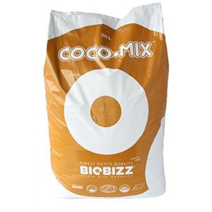 BIOBIZZ 02-055-025 Sac Terre de Coco pour Mélange, Transparent, 50 L (Bonjour48H, neuf)