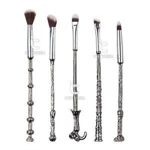 Lot de 5pinceaux à maquillage Manche fantaisie inspirés de Harry Potter (ever-grace-eu, neuf)