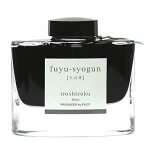 Pilot Iroshizuku Fountain Pen Ink - 50 ml Bottle - Fuyu-syogun Winter Shogun (Light Cool Gray) (japan import) (Stilo e Stile, neuf)