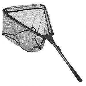 Zer one Epuisette Peche, Poisson pour Carpe Triangulaire Pliable Filets Pôle Poignée Débarquement Epuisette Peche Portable(40 * 40) (Xinyu UK, neuf)